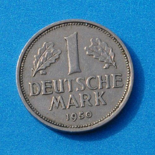 Deutsche Mark 1950 German Deutsche Mark Coin