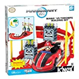 K'NEX Nintendo Mario Kart Wii Bowser's Castle: Mario Versus The Thwomps Building Set