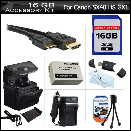 16GB Accessories Bundle Kit For Canon PowerShot