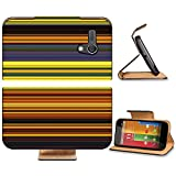 Liili Premium Motorola G 1st Generation Flip Pu Leather Wallet Case Abstract striped digital bright background Photo 20953618 Simple Snap Carrying