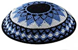 Zion Judaica Knit Quality Kippot for Affairs or Everyday Use Single or Bulk Orders - Optional Custom Imprinting Inside for Any Event (1PC, Sunflower Supreme Quality)
