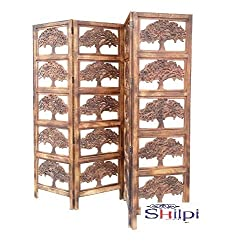 AAMAZING Shilpi:Wooden Partition / wooden Room Divider/ wooden Screen / wooden seperator/ Room Divider/Screen