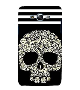 printtech Floral Ethnic Skull Abstract Back Case Cover for Samsung Galaxy Grand Prime G530h