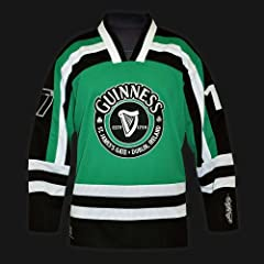GUINNESS GREEN HOCKEY SHIRT