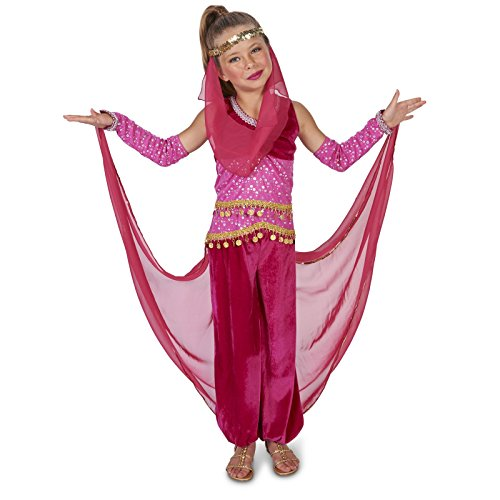 Pink Genie Child Costume S (Jasmine In Aladdin Costumes)