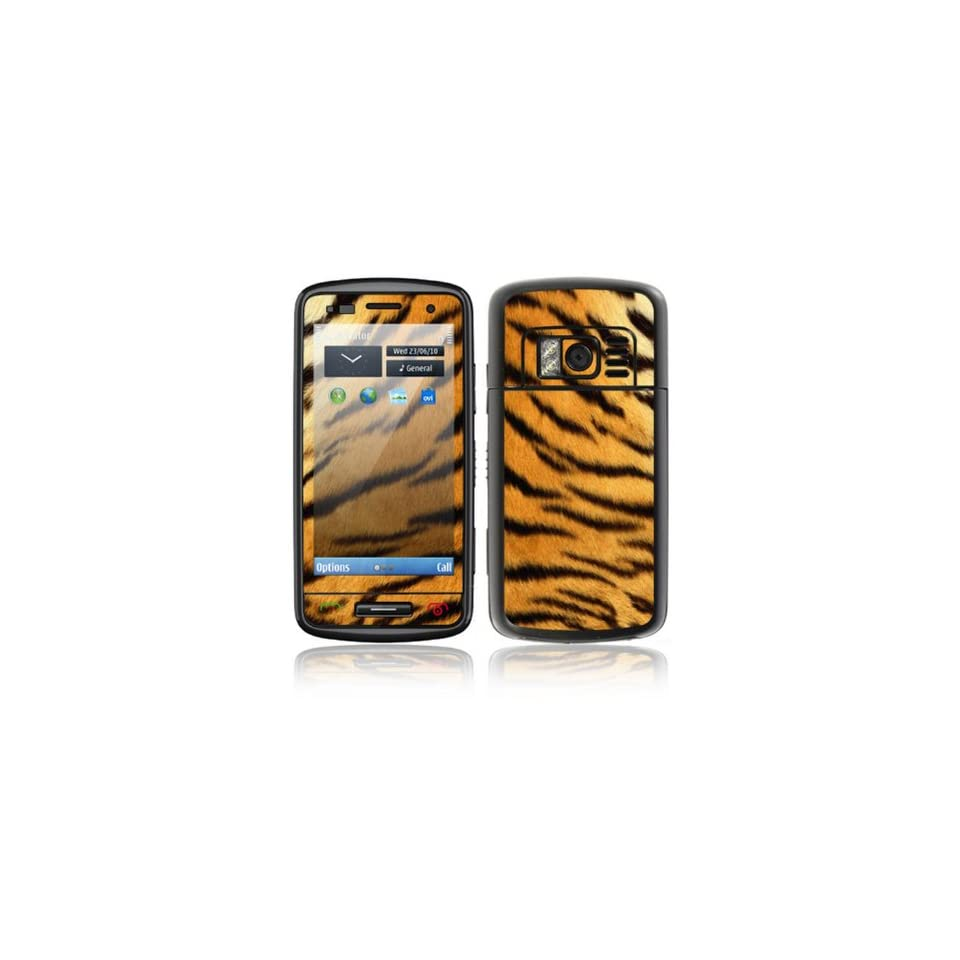 Tiger Skin Design Decorative Skin Cover Decal Sticker for Nokia C6 01 Cell Phone
