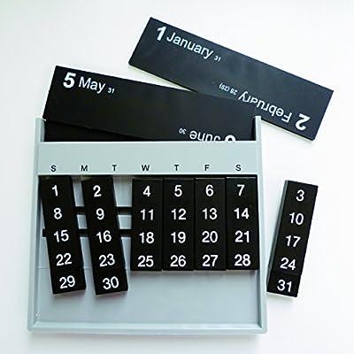 スレンシル カレンダー オールウェイズ 卓上 レッド TD-403