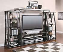 Hot Sale Wall Unit Large Scale Tv Console Metal