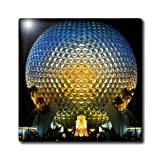 ct_89024_4 Danita Delimont - Florida - Florida, Orlando. Epcot Center at Walt Disney World - US10 BBA0072 - Bill Bachmann - Tiles - 12 Inch Ceramic Tile