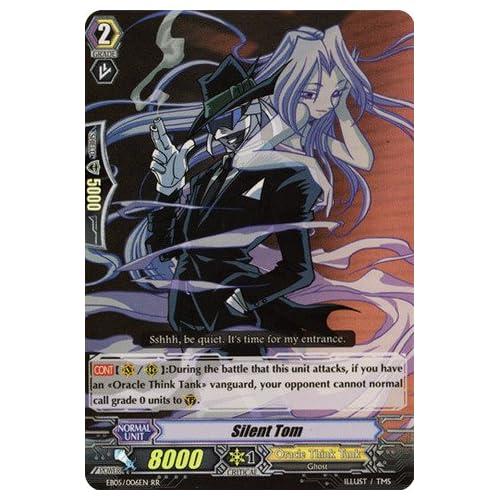 Amazon.com: Cardfight!! Vanguard TCG - Silent Tom (EB05/006EN) - Extra
