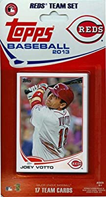 2013 Topps Cincinnati Reds Factory Sealed Special Edition 17 Card Team Set