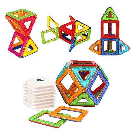 AMOSTING-Magnetic-Building-Blocks-Basic-Educational-Toy-Tiles-Bricks-Kit-24pcs