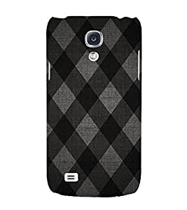 Diamond Pattern 3D Hard Polycarbonate Designer Back Case Cover for Samsung Galaxy S4 Mini i9190