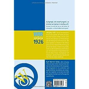 Wir vom Jahrgang 1926 - Kindheit und Jugend (Jahrgangsbände)