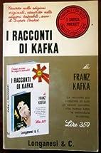 I racconti di Kafka.