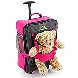 Cabin Max Handgepäckstück Kinder Koffer Trolley Rosa