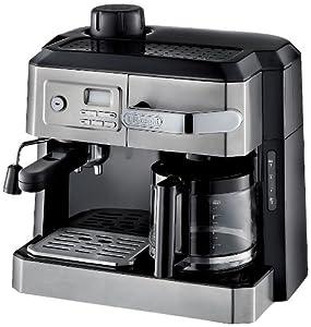 DeLonghi BC0330T Combination Drip Coffee and Espresso Machine by DeLonghi