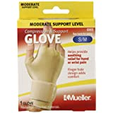 Mueller Sports Medicine Compression Glove, Small/Medium, 0.095 Pound