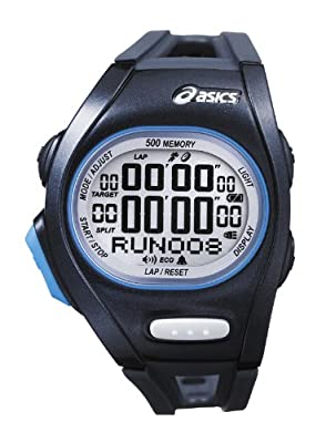 Asics Women's Race CQAR0102 Silver Plastic Quartz Watch with Digital Dial from Asics