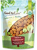Food To Live ® Organic Almonds (Raw, No Shell, Unpasteurized) (2 Pounds)