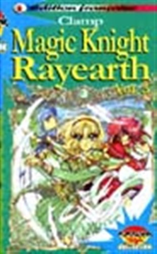 Magic knight Rayearth - Manga player Vol.3