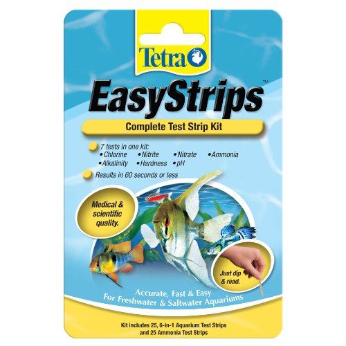 Tetra 19544 EasyStrips Complete Kit, 25-Count (Chlorine Test Aquarium compare prices)