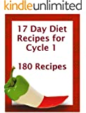 17 Day Diet Recipe Book for Cycle 1 (17 Day Diet Recipe Cycle)