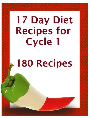 17 day diet cookbook kindle