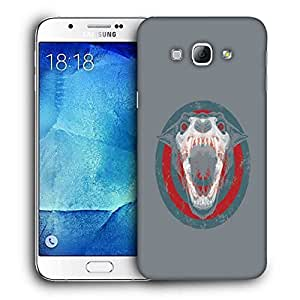Snoogg Barking Dog Designer Protective Back Case Cover For SAMSUNG GALAXY A8
