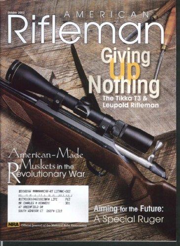 American Rifleman Tikka T3 Leupold Ruger Mark Ii Sako 10 2003