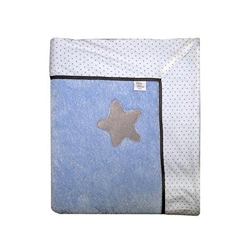 calin-caline-manta-por-cama-lavable-30-bleu-ciel-et-gris
