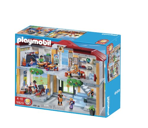 Playmobil 5923 Figure Set Furnished School Set