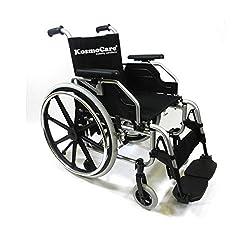 KosmoCare Elegant Quick Release Premium Imported Aluminium Self Propelled Model