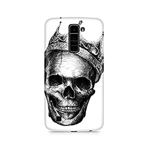 Mobicture Skull King Premium Printed Case For LG K7