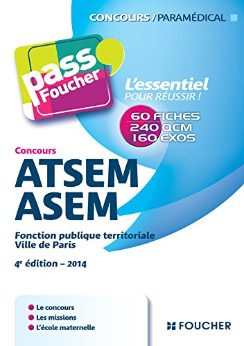 Pass'Foucher Concours ATSEM/ASEM 4e édition