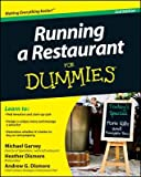 img - for Running a Restaurant for Dummies   [RUNNING A RESTAURANT FOR DU-2E] [Paperback] book / textbook / text book
