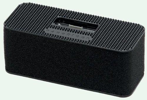 [ナノブロック]nanoblock iPodデコレーションスピーカー おまけフィギア付 ブラック NAIP-01011BK