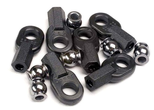 Traxxas 2742 Rod Ends and Ball Connector, Set of 6
