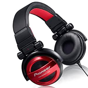 Amazon.com: Pioneer SE-MJ551-R Red BASS HEAD Headphones SE ...