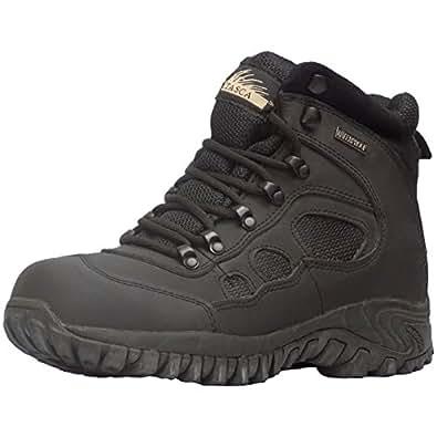 Itasca Men's Journeymen Black Lace Up Steel Toe Ankle