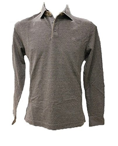 POLO HENRY COTTON S GRIGIO TG XL AI2016