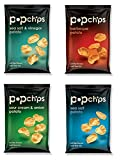 Popchip 4-Flavor Variety Pack, 0.8-Ounce Single Serve Bags (Pack of 24)