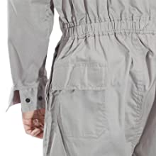 Benchmark Flame Resistant Feather Weight Coverall, Durable, 100% FR cotton, HRC 1