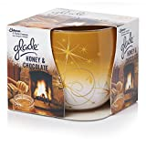 Glade Candle In a Jar Honey & Chocolate Scent