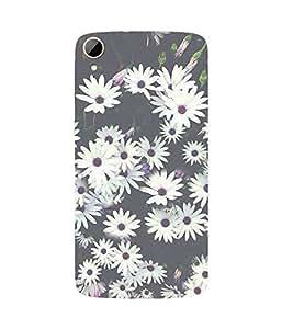 White Daisy HTC Desire 828 Case