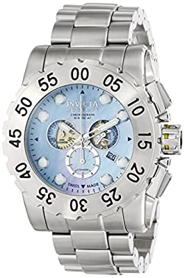 Invicta Men's F0065 Reserve Collection Leviathan Chronograph Stainless Steel Watch
