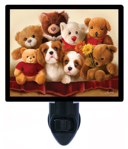 Dog Night Light - Friends Forever - Children - Led Night Light front-1008613