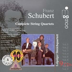 Schubert : Intégrale des Quatuors à cordes