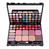 Acevivi Professional 72 Silky Shine Colors Eyeshadow Makeup Cosmetic Palette Combination With Lip Gloss And Blush (Fba)