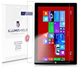 iLLumiShield - Microsoft Surface Pro 3 Screen Protector Japanese Ultra Clear HD Film with Anti-Bubble and Anti-Fingerprint - High Quality (Invisible) LCD Shield - Lifetime Replacement Warranty - [2-Pack] OEM / Retail Packaging